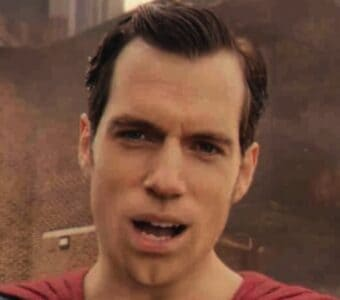justice league henry cavill's mouth superman