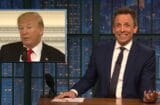 late night with seth meyers donald trump parkland