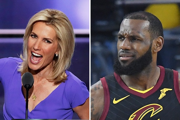 laura ingraham lebron james