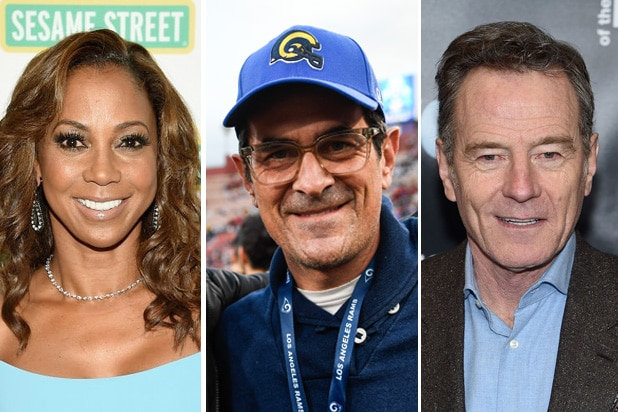 rams fans holly robinson peete ty burrell bryan cranston
