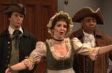 snl saturday night live tina fey rachel dratch super bowl revolutionary war
