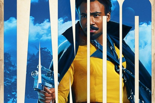 solo a star wars story character posters donald glover lando sabacc denny's