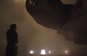 solo a star wars story han looking at the falcon maybe for the first time