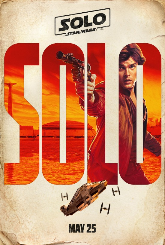 solo a star wars story han solo poster