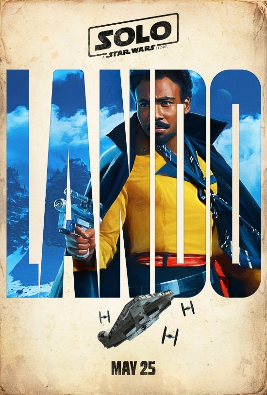 solo a star wars story lando poster donald glover