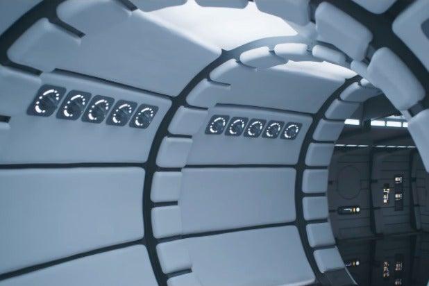solo a star wars story super bowl trailer white falcon interior