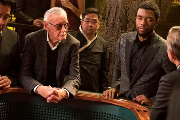 stan lee cameo ranked black panther