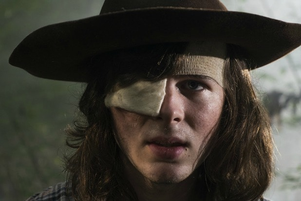 the walking dead carl died