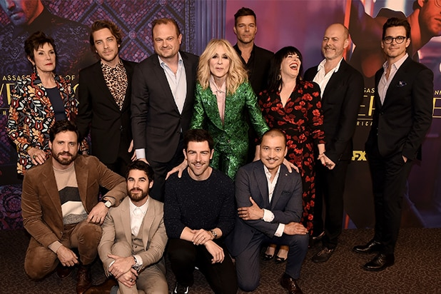 Assassination of Gianni Versace Cast Finale Celebration