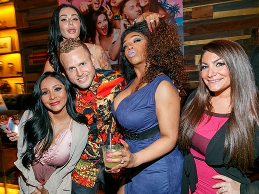 Party Report: Humbled 'Jersey Shore' Cast Returns to