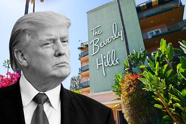 Trump Stormy Daniels Karen McDougal Beverly Hills Hotel