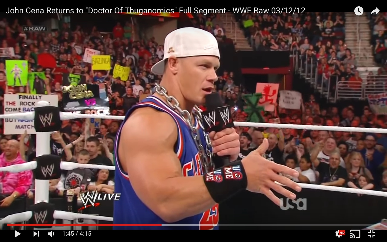 The evolution of john cena from wwes doctor of thuganomics to john cena aka doctor of thuganomics 2002 kristyandbryce Choice Image