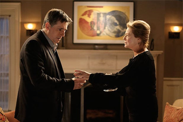"Gabriel Byrne and Diane Dianne Wiest in HBO's ""In Treatment"""