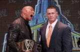WrestleMania 29 Press Conference - John Cena & Dwayne Johnson