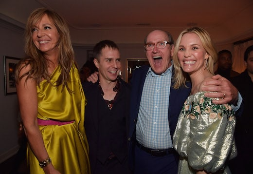 Allison Janney, Sam Rockwell, Richard Jenkins and Leslie Bibb
