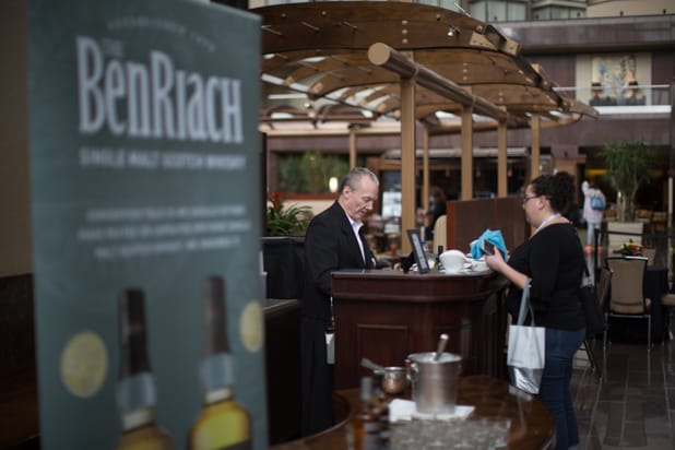 BE CONFERENCE day 1 benriach attendees