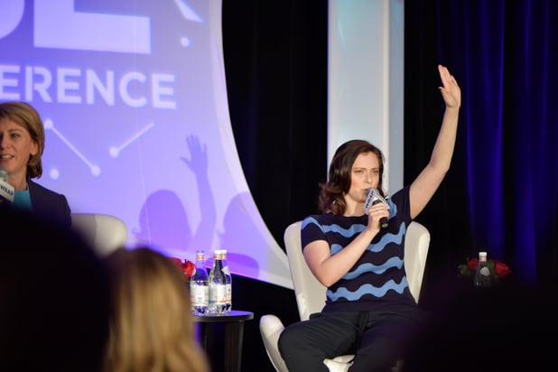 BE CONFERENCE day 2 rachel bloom