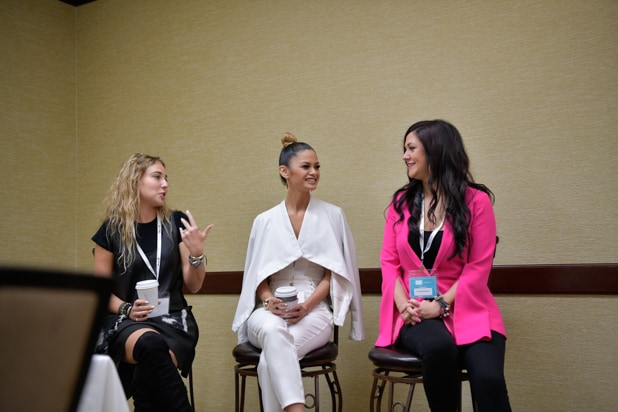 Beatrice Fischel-Bock, Maile Pacheco, Cindy Whitehead, BE CONFERENCE 2018