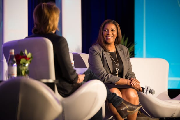 Be Conference day 2 2018 letitia james