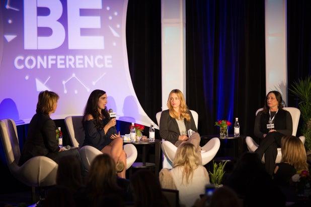 Sharon Waxman Sarah Ann Masse Jessica Barth, BE Conference day 2 2018