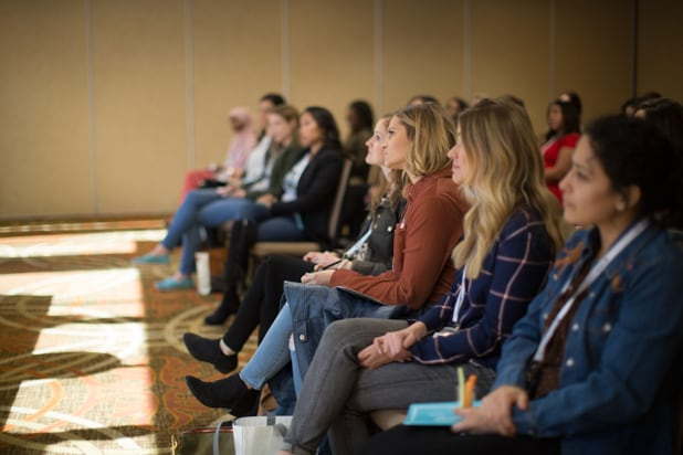 Be Conference day 2 2018 attendees