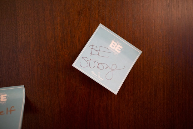 Be Conference day 2 2018 stickies