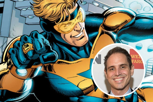 Booster Gold Greg Berlanti WB
