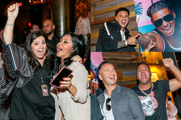 Party Report: Humbled 'Jersey Shore' Cast Returns to Hollywood