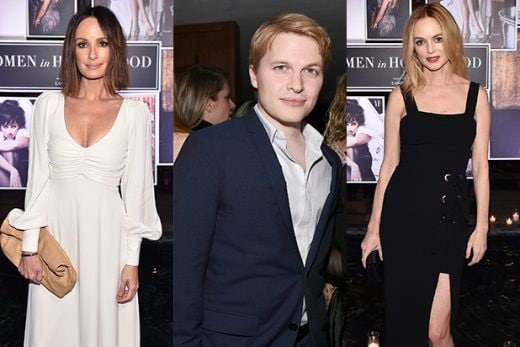 COVER - Times Up Oscar Week 2018 Catt Sadler, Ronan Farrow, Heather Graham