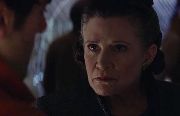 Carrie Fisher Slap Last Jedi