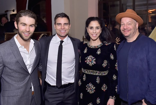 Chace Crawford, Colin Egglesfield, Sarah Silverman and Jeff Ross