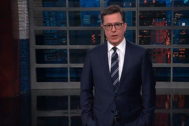 Stephen Colbert's Stormy Watch