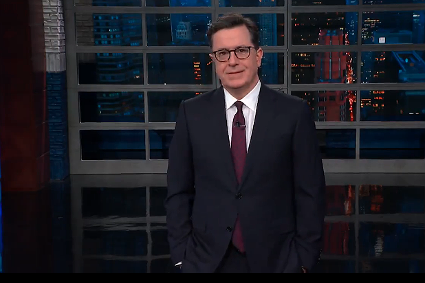 Colbert on Stormy Daniels