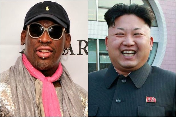 competitive price e73c9 09c24 Dennis Rodman Tweets Pic of Kim Jong Un in a MAGA Cap (Photo)
