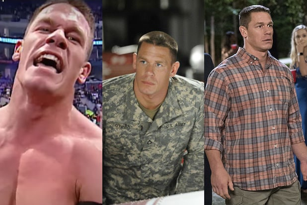 Evolution of John Cena