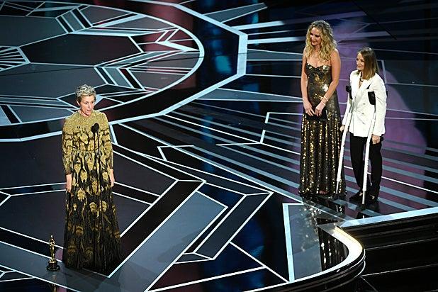 Frances McDormand Jennifer Lawrence Jodie Foster Oscars