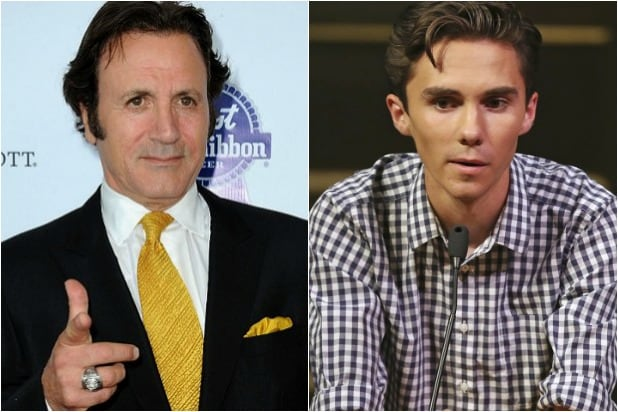 Frank Stallone apologizes for calling Parkland survivor David Hogg a 'p***y'