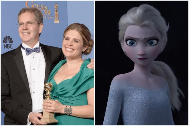 Frozen Directors Jennifer Buck