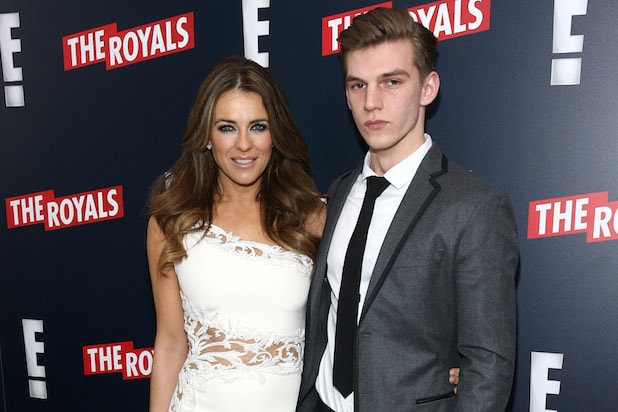 Elizabeth Hurley's nephew involved 'in a brutal attack' in London