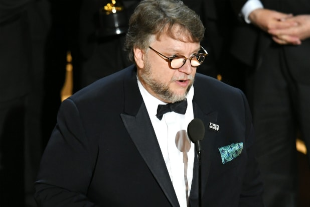 Guillermo del Toro at the Oscars