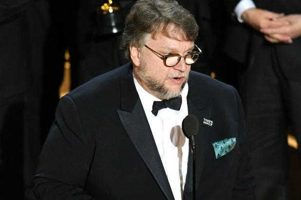 Guillermo del Toro at the Oscars