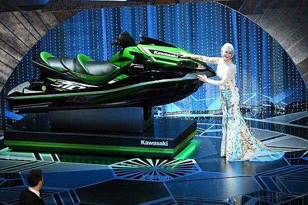 Helen Mirren Jet Ski Oscars