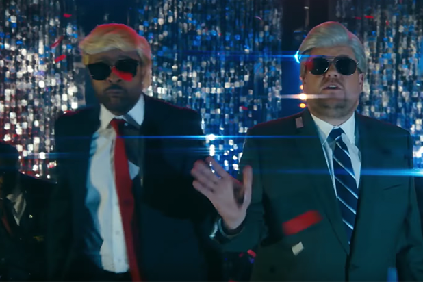 James Corden and Shaggy Update 'It Wasn't Me' Lyrics for Mueller's