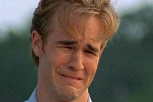 James Van Der Beek Dawson Crying