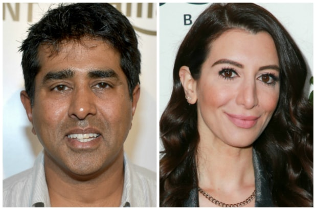 Jay Chandrasekhar and Nasim Pedrad
