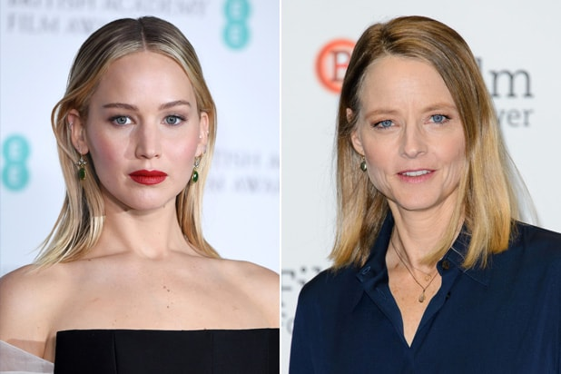 Jennifer Lawrence Jodie Foster Best Actress