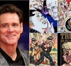 Jim Carrey Artwork Collage 3