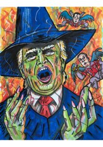 Jim Carrey Trump Wicked Witch