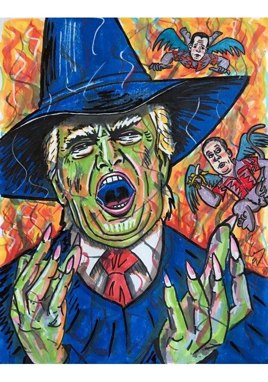 Jim Carrey Trump Wicked Witch