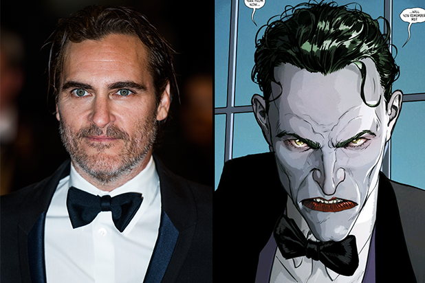Joaquin Phoenix on if He Would Play the Joker: 'It Depends'